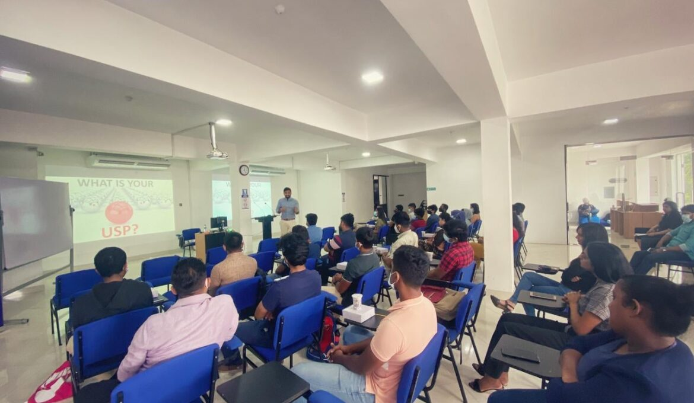 A guidance session conducted by Sunesh Rodrigo - DGM Strategic transformation MAS Holdings (4)