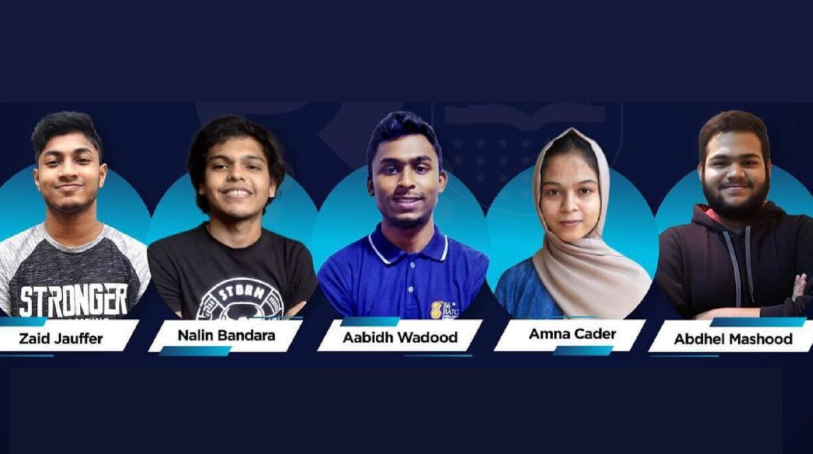 SQA Diploma Level Students Secure First Runners- up at the Island wide University level IT Competition Organized by AIESEC in University of Sri Jayewardenepura
